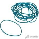 Резинка банковская универсальная 500 г (диаметр 60 мм, толщина 1.5 мм, голубая)