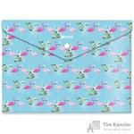 Папка-конверт на кнопке Attache Selection Flamingo А4 0.18 мм (6 штук в упаковке)