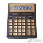 Калькулятор настольный Citizen SDC-888TII Gold 12-разрядный золотистый