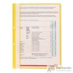 Папка-скоросшиватель Attache А4 желтая 10 штук в упаковке (толщина обложки 0.11 мм и 0.15 мм)