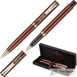 Набор письменных принадлежностей Pierre Cardin PC0866BP/RP (шариковая ручка, роллер) в пластиковом футляре