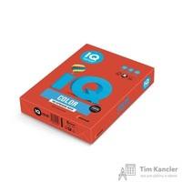 Бумага цветная для офисной техники IQ Color кораллово-красная CO44 (А4, 160 г/кв.м, 250 листов)