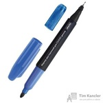 Маркер для CD Attache синий двусторонний (толщина линии 0.7 и 1 мм)
