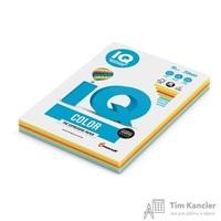 Бумага цветная для офисной техники IQ Color 5 цветов RB02 Intensive по 50 листов (A4, 80 г/кв.м, 250 листов)