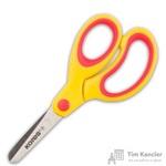 Ножницы детские Kores Softgrip (13 см, с пластиковыми прорезиненными эллиптическими ручками)