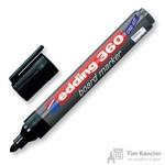 Маркер для досок Edding e-360/1 черный (толщина линии 1.5-3 мм)