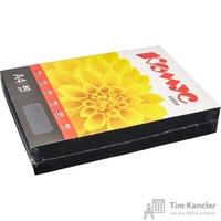 Бумага цветная для офисной техники Комус Color черная интенсив (А4, 80 г/кв.м, 500 листов)