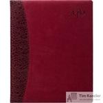 Еженедельник датированный на 2019 год Attache искусственная кожа A4 80 листов бордовый (213x265 мм)