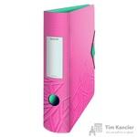 Папка-регистратор Leitz UrbanChic 82 мм розовая