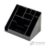Подставка для канцелярских мелочей Attache Каскад 9 отделений черная