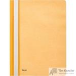 Папка-скоросшиватель Комус А4 оранжевая (толщина обложки 0.13 мм и 0.18 мм)
