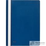 Папка-скоросшиватель Комус А4 синяя (толщина обложки 0.13 мм и 0.18 мм)