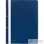 Папка-скоросшиватель Комус А4 с перфорацией синяя (толщина обложки 0.13 мм и 0.18 мм)