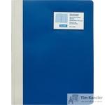Папка-скоросшиватель Bantex Manager A4 синяя (толщина обложки 0.25 мм)