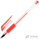 Ручка гелевая Attache Economy красная (толщина линии 0.5 мм)