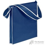 Сумка для покупок спанбонд синяя (35x39x6 см)
