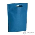 Сумка для покупок спанбонд синяя (25.5x29x10 см)