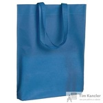 Сумка для покупок спанбонд синяя (46x38x6 см)
