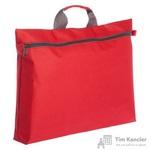 Конференц-сумка полиэстер красная (43x28x6.5 см)