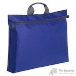 Конференц-сумка полиэстер синяя (43x28x6.5 см)
