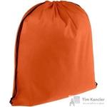 Рюкзак-мешок спанбонд оранжевый (37x41x1 см)