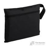Конференц-сумка полиэстер черная (37x29x0.5 см)