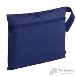 Конференц-сумка полиэстер синяя (37x29x0.5 см)