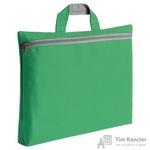 Сумка-папка полиэстер зеленая (39x29x5 см)