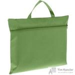 Конференц-сумка спанбонд зеленая (38x30x0.5 см)