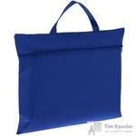 Конференц-сумка спанбонд синяя (38x30x0.5 см)