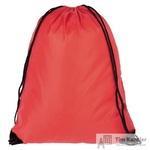 Рюкзак-мешок полиэстер красный (34x45x1 см)