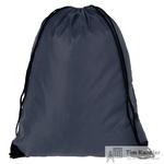 Рюкзак-мешок полиэстер темно-синий (34x45x1 см)