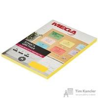 Бумага цветная для офисной техники Promega jet Intensive желтая (А4, 80г/кв.м, 100листов)