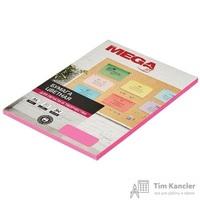 Бумага цветная для офисной техники Promega jet Neon малиновая (А4, 75 г/кв.м, 50 листов)