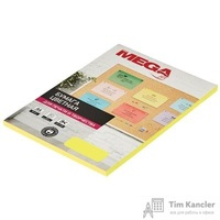 Бумага цветная для офисной техники Promega jet Neon желтая (А4, 75 г/кв.м, 50 листов)