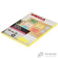 Бумага цветная для офисной техники Promega jet Neon желтая (А4, 75 г/кв.м, 100 листов)