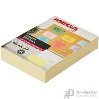 Бумага цветная для офисной техники Promega jet Pastel желтая (А4, 80г/кв.м, 500листов)