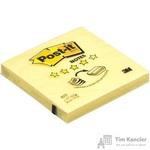 Стикеры Z-сложения Post-it 76х76 мм пастельные желтые для диспенсера (1 блок, 100 листов)