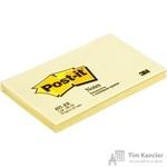 Стикеры Post-it Original 76x127 мм пастельные желтые (1 блок, 100 листов)