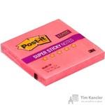 Стикеры Post-it 76x76 мм неоновые розовые (1 блок, 90 листов)