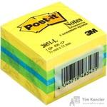 Стикеры Post-it Original 51х51 мм неоновые 3 цвета (1 блок, 400 листов)