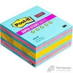 Стикеры Post-it Super Sticky Love is? 76x76 мм неоновые 3 цвета (1 блок, 360 листов)