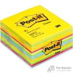 Стикеры Post-it Original 76х76 мм неоновые 6 цветов (1 блок, 450 листов)