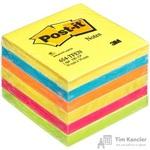 Стикеры Post-it Original 76x76 мм неоновые 5 цветов (6 блоков по 100 листов)