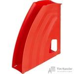 Вертикальный накопитель Attache Fantasy пластиковый оранжевый ширина 70 мм