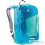 Рюкзак Deuter Stepout 12 синий/зеленый 21х24х14 см