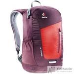 Рюкзак Deuter Stepout 12 бордовый/оранжевый 21х24х14 см