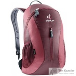 Рюкзак Deuter City Light бордовый 45х24х17 см