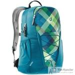 Рюкзак Deuter Gogo синий/зеленый 46х33х21 см