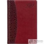 Ежедневник датированный на 2019 год Attache искусственная кожа A5 176 листов бордовый (148x218 мм)